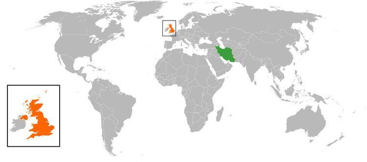 Iran–United Kingdom relations