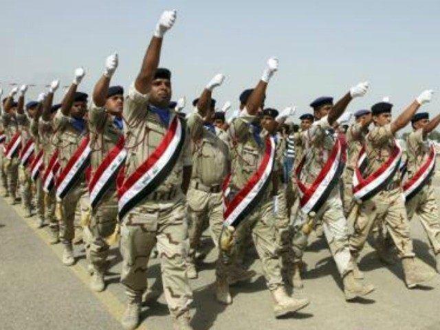 Iraqi Army Iraqi Army Fleeing for Their Lives Again