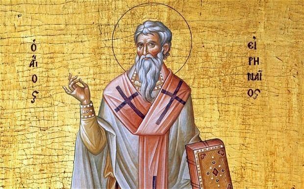 Irenaeus Saint Irenaeus Bishop of Lyons Saint Augustines House