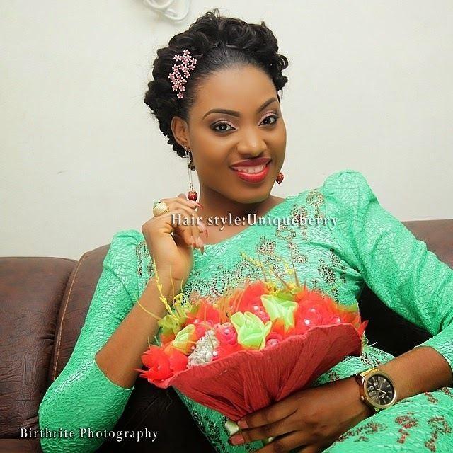 Ireti Doyle Ireti Doyle39s Daughter Bimbo Weds at Ikoyi Registry