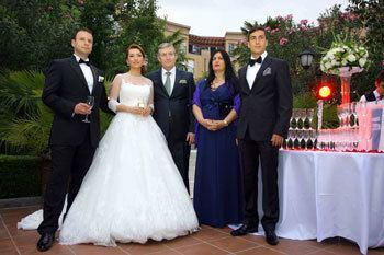 Irfan Hysenbelliu Fabiola Hysenbelliu martohet ne nje ceremoni madheshtore