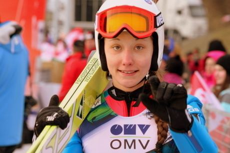 Irina Avvakumova LadiesSkijumpingcom Irina Avvakumova won overall
