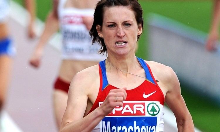 Irina Maracheva Athletics Weekly Euro medallist Irina Maracheva among four