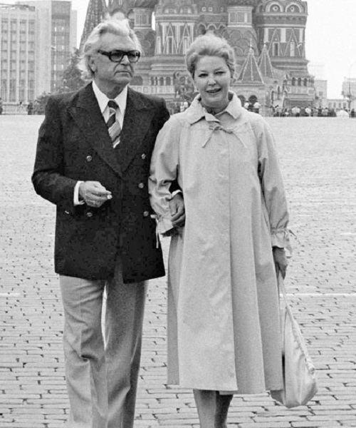 Irina Skobtseva Sergei Bondarchuk and Irina Skobtseva Russian culture