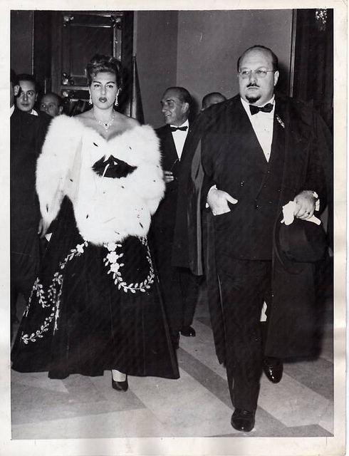 Irma Capece Minutolo 1956 KING FAROUK Of Egypt amp Sudan amp IRMA CAPECE MINUTOLO