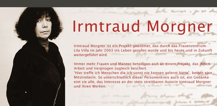 Image result for Irmtraud Morgner