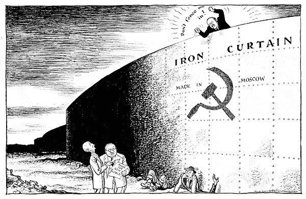 Iron Curtain 20 Maps that show the inglorious legacy of the 39Iron Curtain39