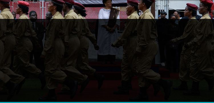Iron Ladies of Liberia movie scenes