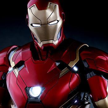 Iron Man Marvel Iron Man Mark XLVI Sixth Scale Figure by Hot Toys Sideshow
