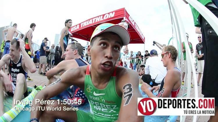 Irving Pérez Irving Perez en el World Series Triathlon de Chicago YouTube