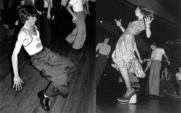 Is There Anybody There? (film) movie scenes Dancers at a Northern Soul all nighter in 1975