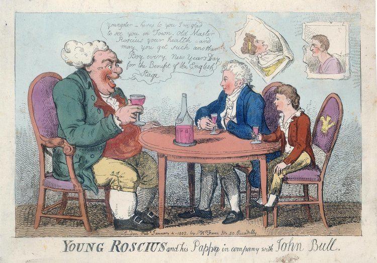 Isaac Cruikshank British Caricature