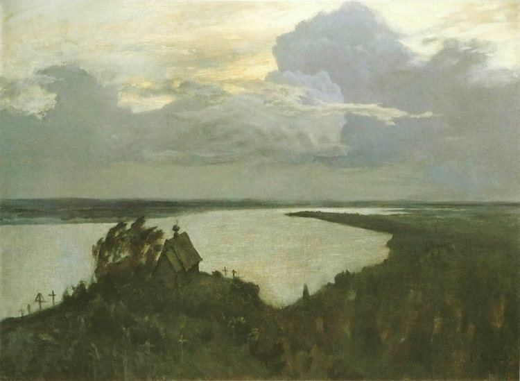 Isaac Levitan Study to quotAbove the eternal tranquilityquot Isaac Levitan
