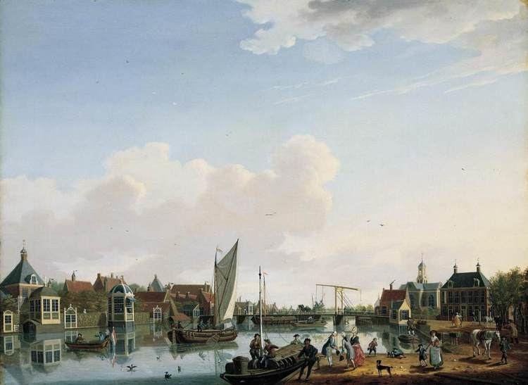 Isaac Ouwater FileIsaac Ouwater Ouderkerk near Amsterdam WGA16788jpg