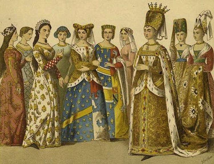 Isabeau of Bavaria FileIsabeau of Bavaria with court attendantsjpg