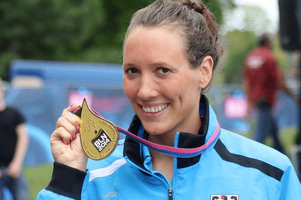 Isabelle Härle Isabelle Hrle grabs the first gold medal for Germany32nd LEN