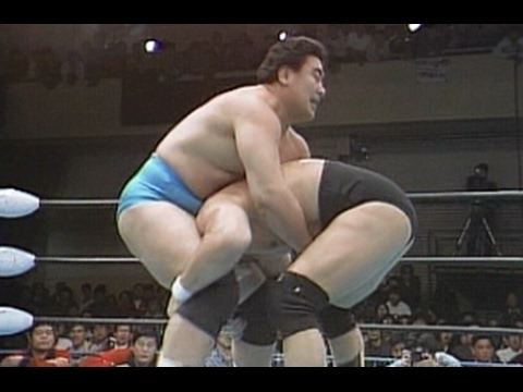 Isao Takagi Genichiro Tenryu vs Isao Takagi January 28 1990 YouTube