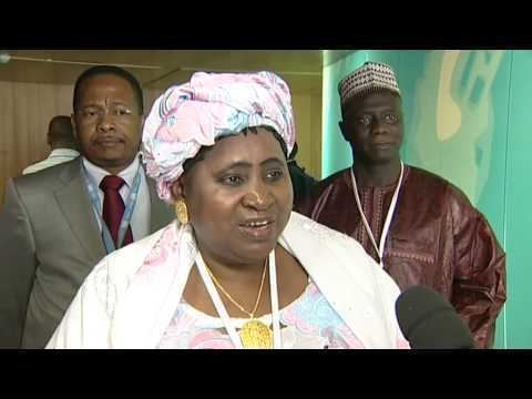 Isatou Njie-Saidy Vice President Gambia Ms Isatou NjieSaidy YouTube