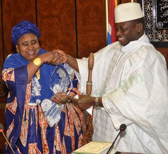 Isatou Njie-Saidy Gambia Breaking News Has Gambias Vice President Absconded