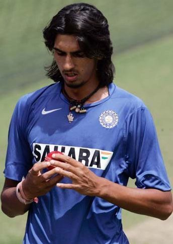 Swing speed height desire Ishant Sharma Fast Cricket