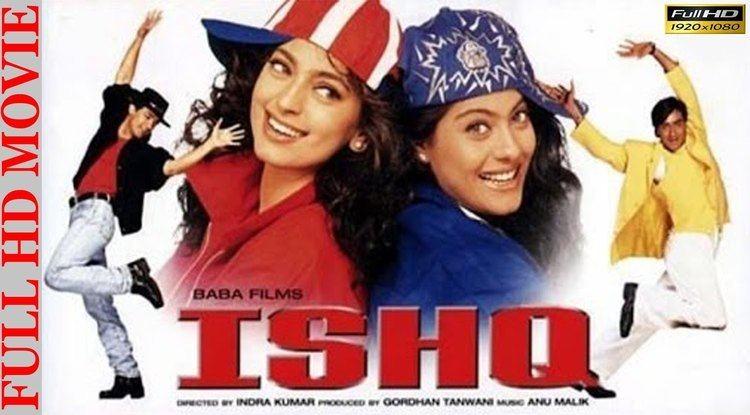 Ishq (1997 film) Ishq 1997 Aamir Khan Ajay Devgan Juhi Chawla Kajol Full