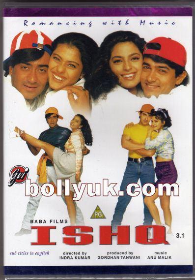Ishq (1997 film) Ishq 1997 GVI DVD