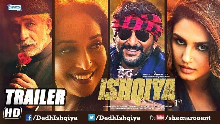 Dedh Ishqiya Jan 2014 First Look Trailer Madhuri Dixit