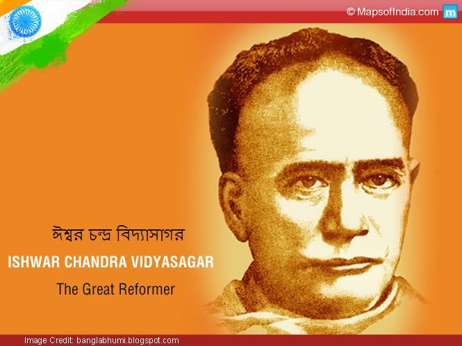 Ishwar Chandra Vidyasagar Ishwar Chandra Vidyasagar A great reformer My India