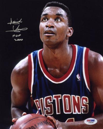 Isiah Thomas Isiah Thomas Autograph Signings SportsMemorabilia