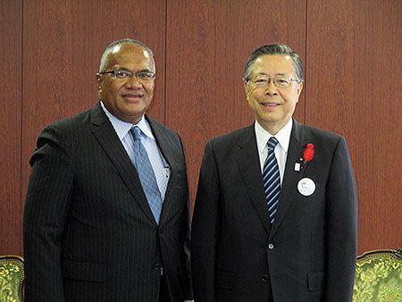 Isikeli Mataitoga Embassy of the Republic of Fiji HE Ambassador Isikeli Mataitoga