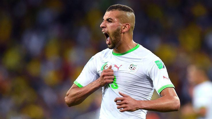 Islam Slimani Islam Slimani completes Leicesters superb window with deadline day