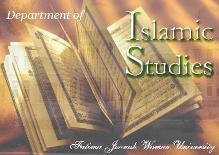 Islamic studies Islamic Studies Fatima Jinnah Women University