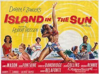 Island in the Sun (film) Island In The Sun 1957 Quad UK Poster BRITISH QUAD MOVIE POSTERS