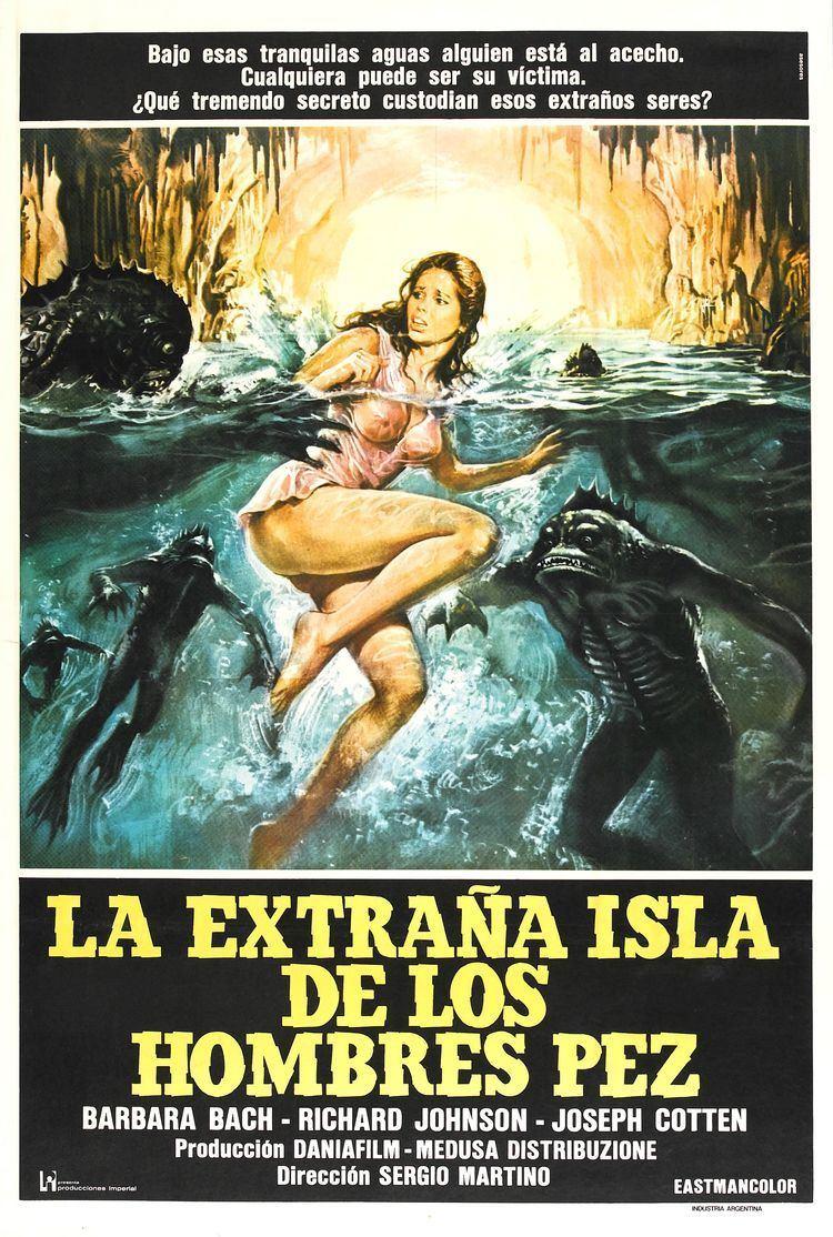 Island of the Fishmen Poster for Island of Fishmen Lisola degli uomini pesce aka