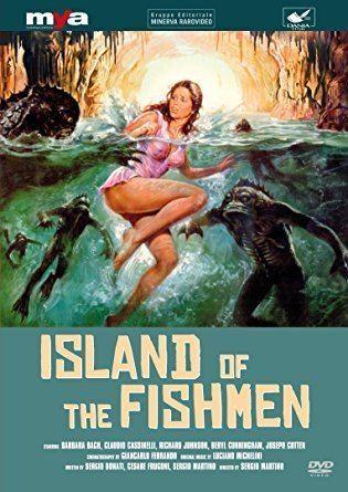 Island of the Fishmen Amazoncom Island of the Fishmen Barbara Bach Claudio Cassinelli