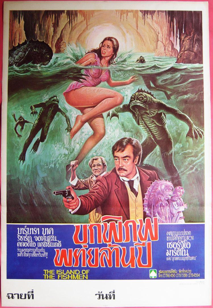 Island of the Fishmen Arkham Drivein Home of Lovecraft in Film