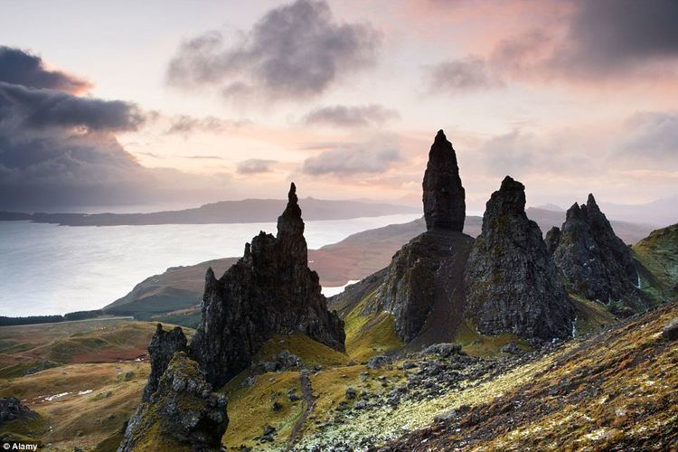 Isle of Man movie scenes The Old Man Of Stor Scottish tourist chiefs are expecting an influx of sci fi movie fans on the Isle of Skye this summer as a result of the release of the