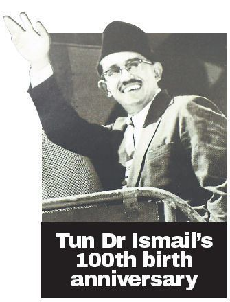 Ismail Abdul Rahman Tun Dr Ismail A true Malaysian patriot Malaysia Malay Mail Online