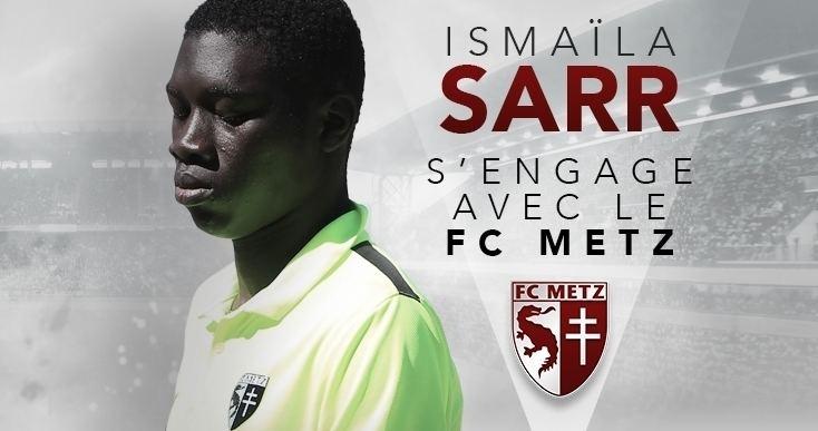 Ismaïla Sarr Ismala Sarr s39engage pour 5 ans Football Club de Metz Infos