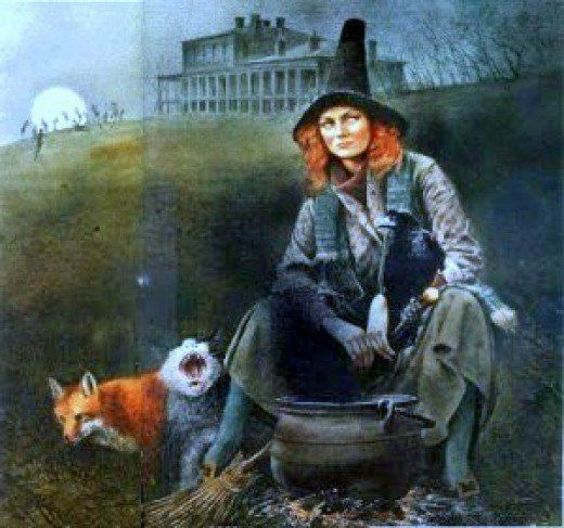 Isobel Gowdie Witch Hunts in Scotland Scottish Witch Isobel Gowdie and King James
