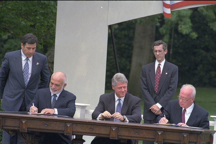 Israel–Jordan peace treaty