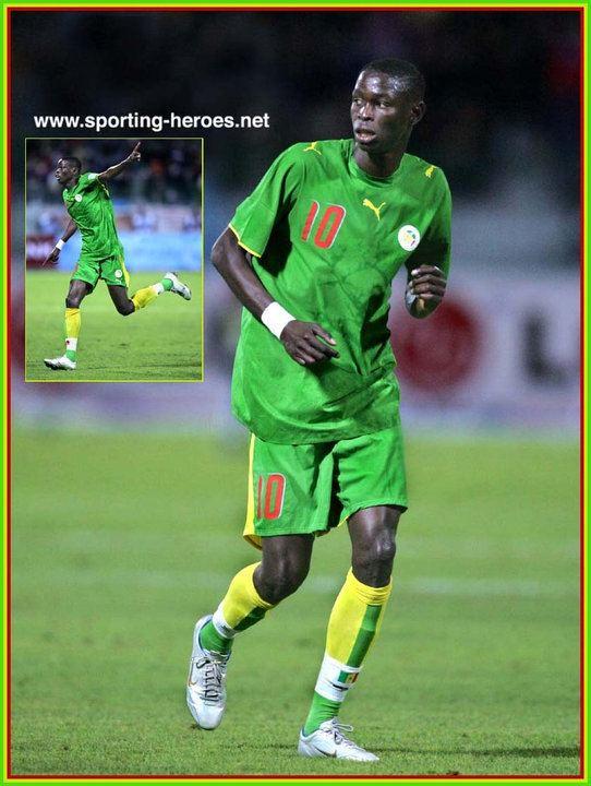 Issa Ba Issa Ba Coupe d39Afrique des Nations 2006 Senegal