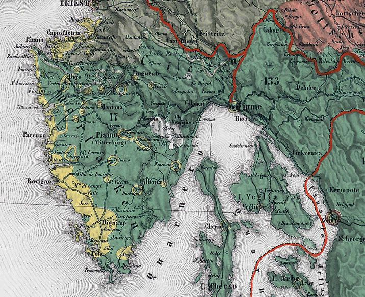 Istria County in the past, History of Istria County