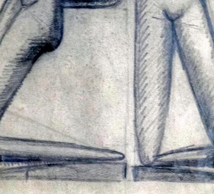 István Beöthy Etienne Beothy ETUDE DE CORPS Modernism