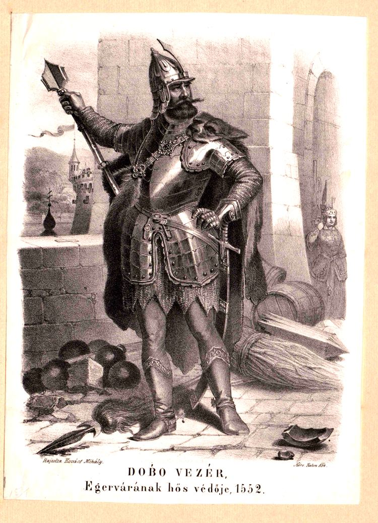 István Dobó FileDob Istvn a hs egri vrvdk kapitnyajpg Wikimedia Commons