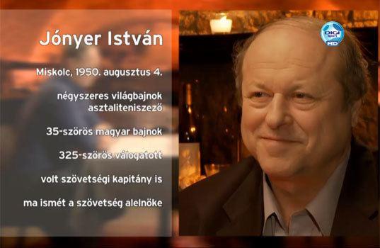 István Jónyer DIGI Sport HD Rangad Jnyer Istvn asztaliteniszezvel