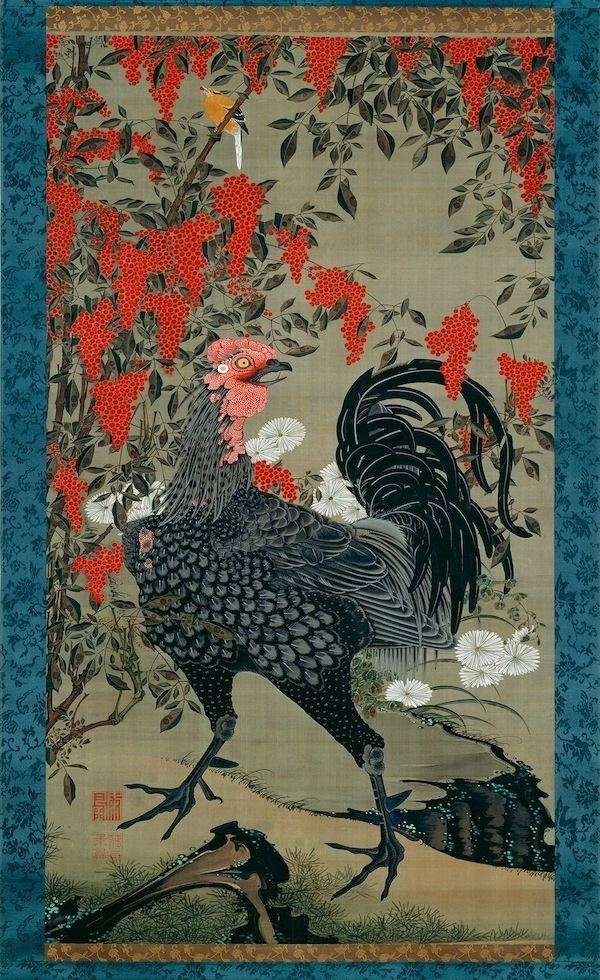 Itō Jakuchū 1000 images about JAKUCHU ITO on Pinterest Pictures of Museums