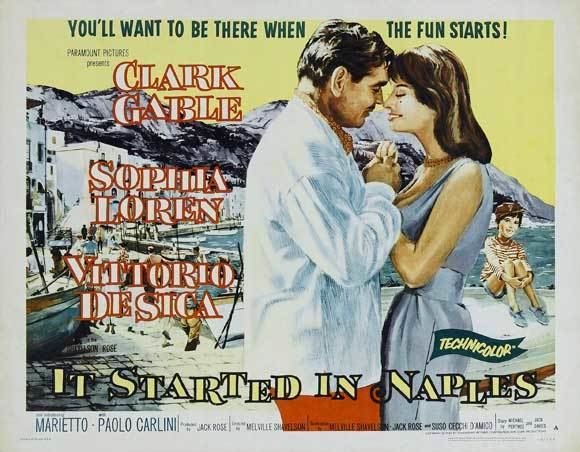It Started in Naples November Movie of the Month It Started in Naples 1960 Dear Mr