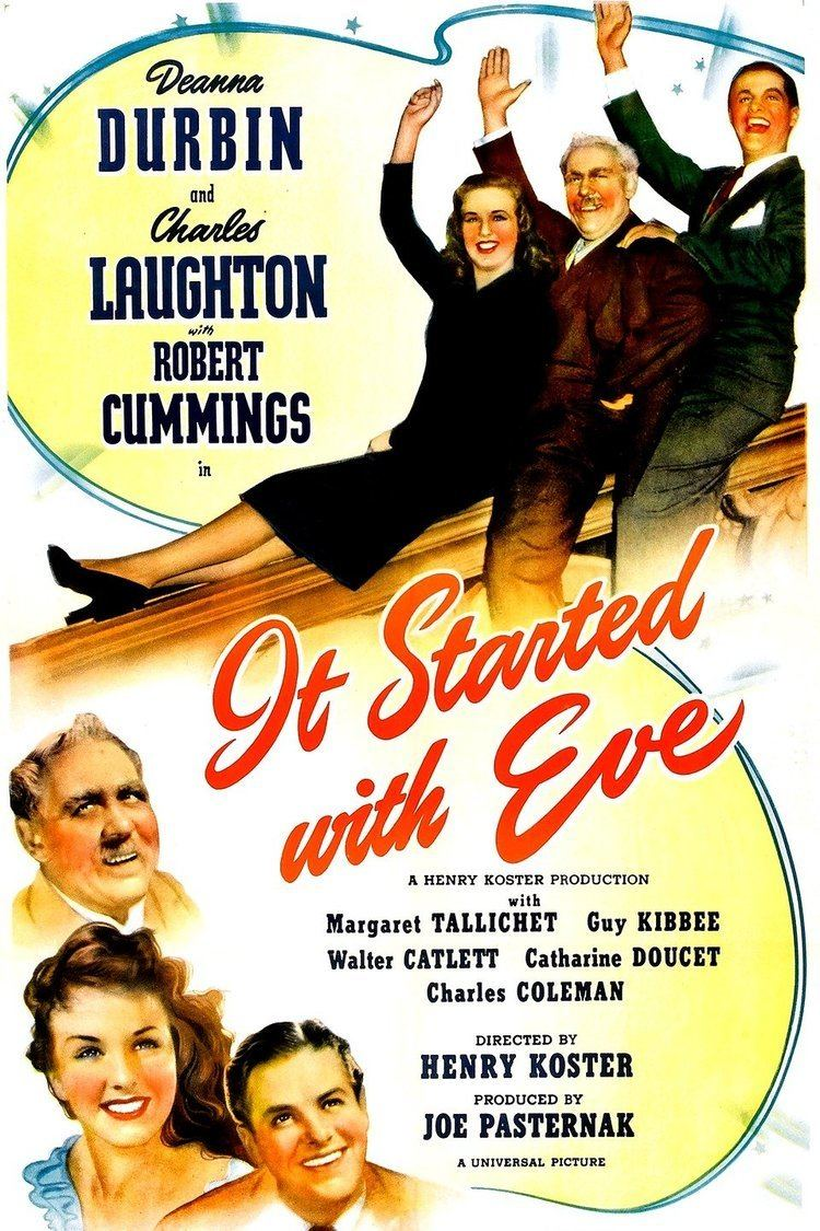 It Started with Eve wwwgstaticcomtvthumbmovieposters37507p37507