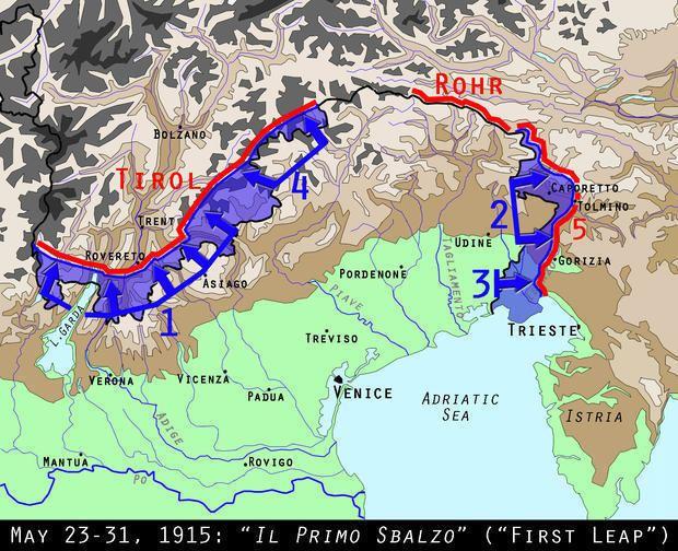 Italian Front (World War I) WWI Centennial Italy Declares War on AustriaHungary Mental Floss